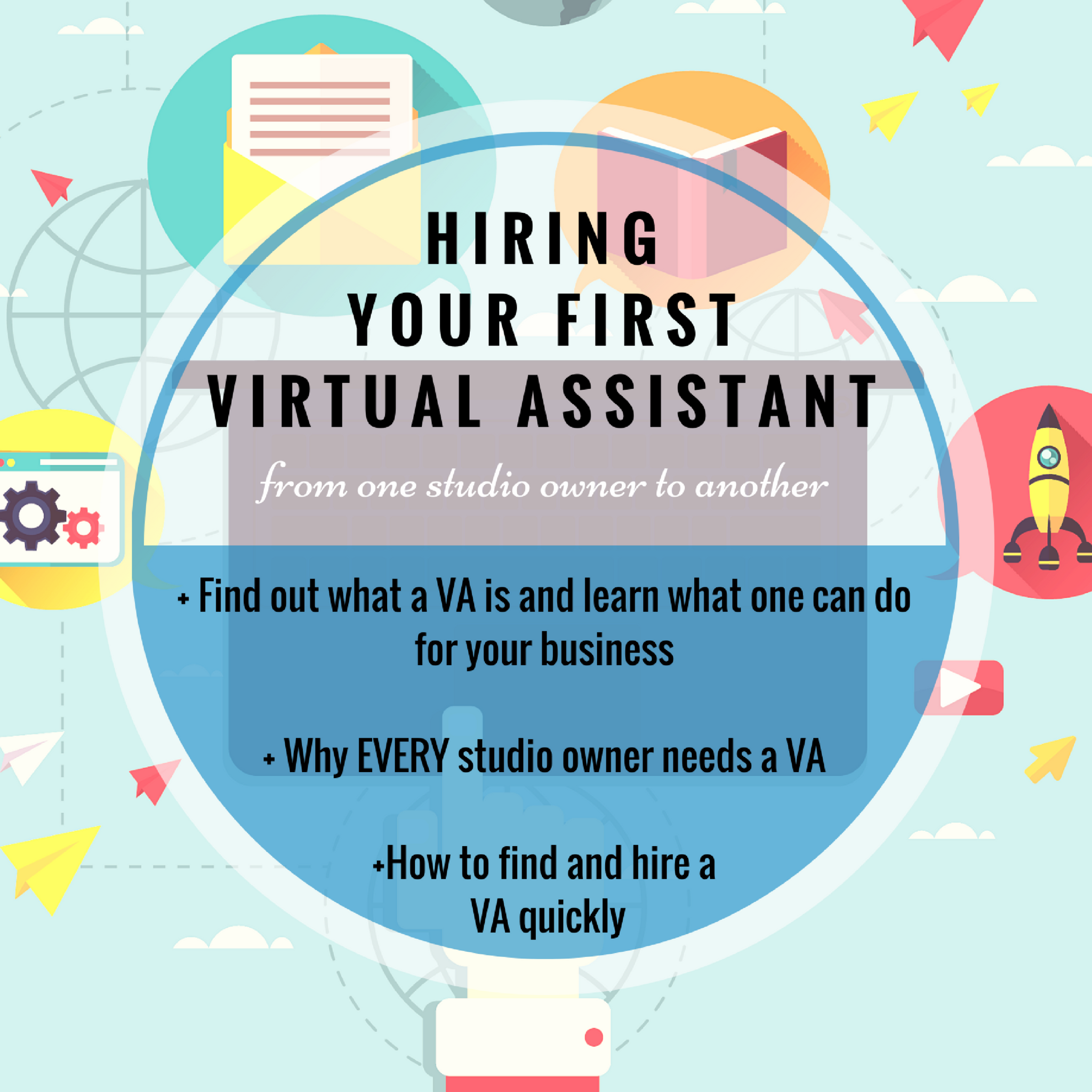 Hiring a Virtual Assistant with Yong Pratt of the Tech Savvy studio Owner