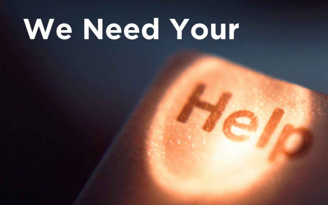 201 – We need YOUR help