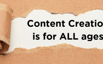 Find out who content creation is really for…