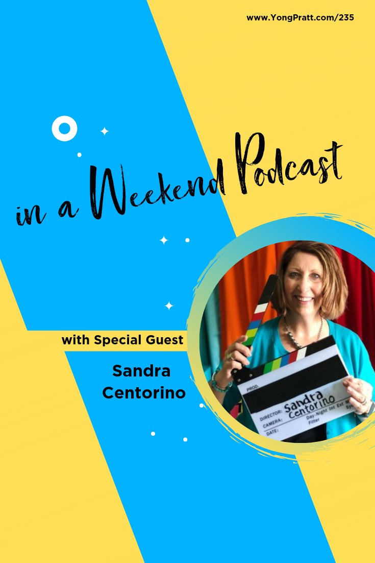 Does the thought of going live want to make you run in the opposite direction?  If so, tune in as podcast guest, Sandra Centorino shares tips and tricks to pressing live confidently and how to never run out of topics for your videos.  Listen to the full episode at www.yongpratt.com/235
